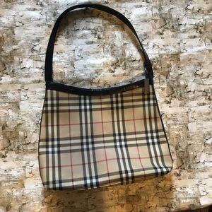 Large Burberry Nova Check Hobo handbag